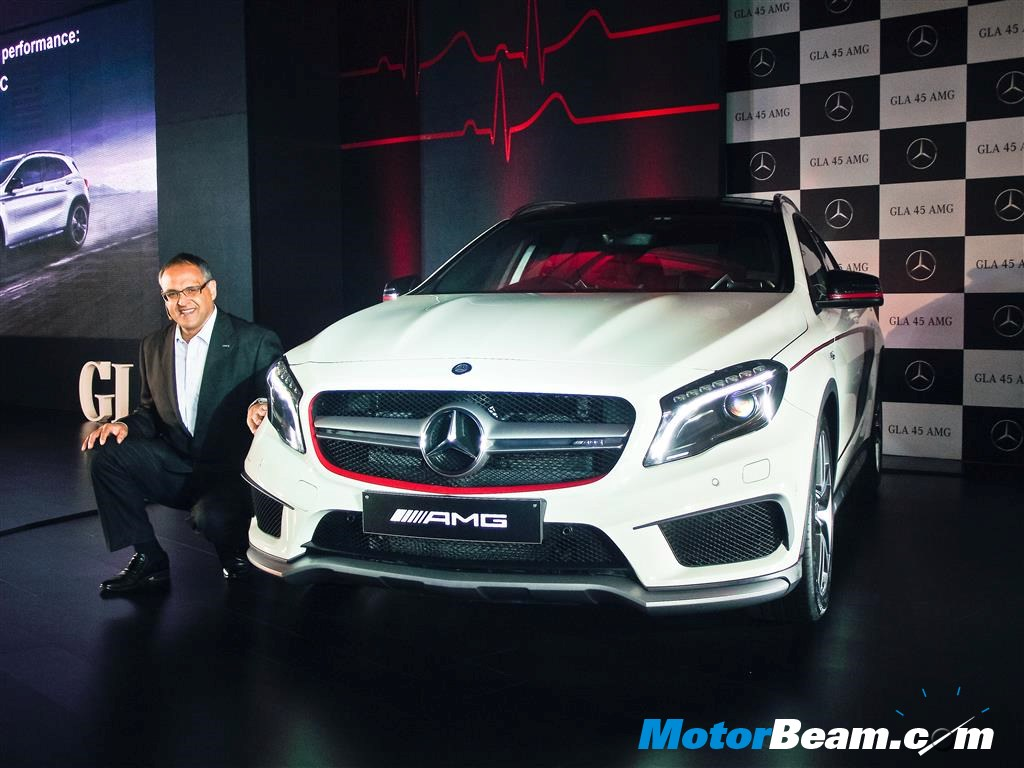 Mercedes GLA45 AMG Launched