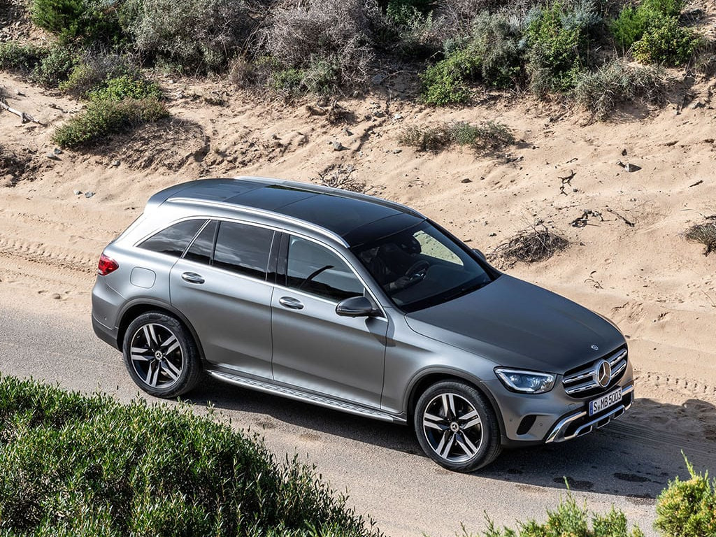 Mercedes GLC Facelift Top View