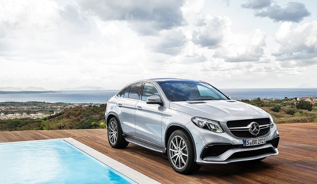 Mercedes GLE AMG Coupe Wallpaper