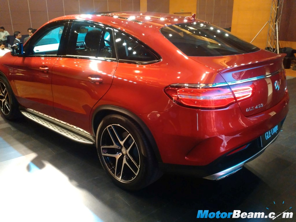 Mercedes GLE450 Coupe Launch
