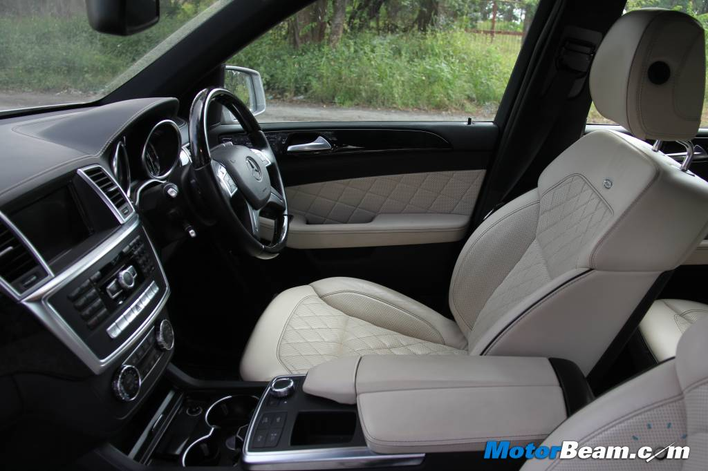 Mercedes M-Class Interior Review