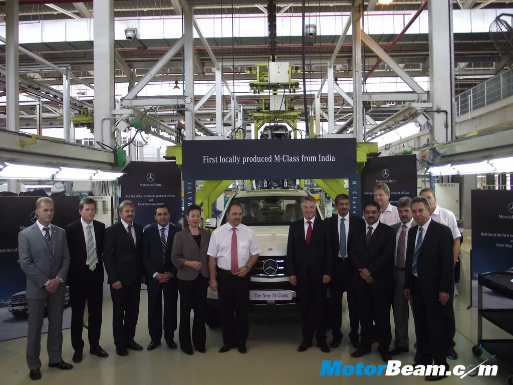 Mercedes M Class Local Aseembly Inauguration2