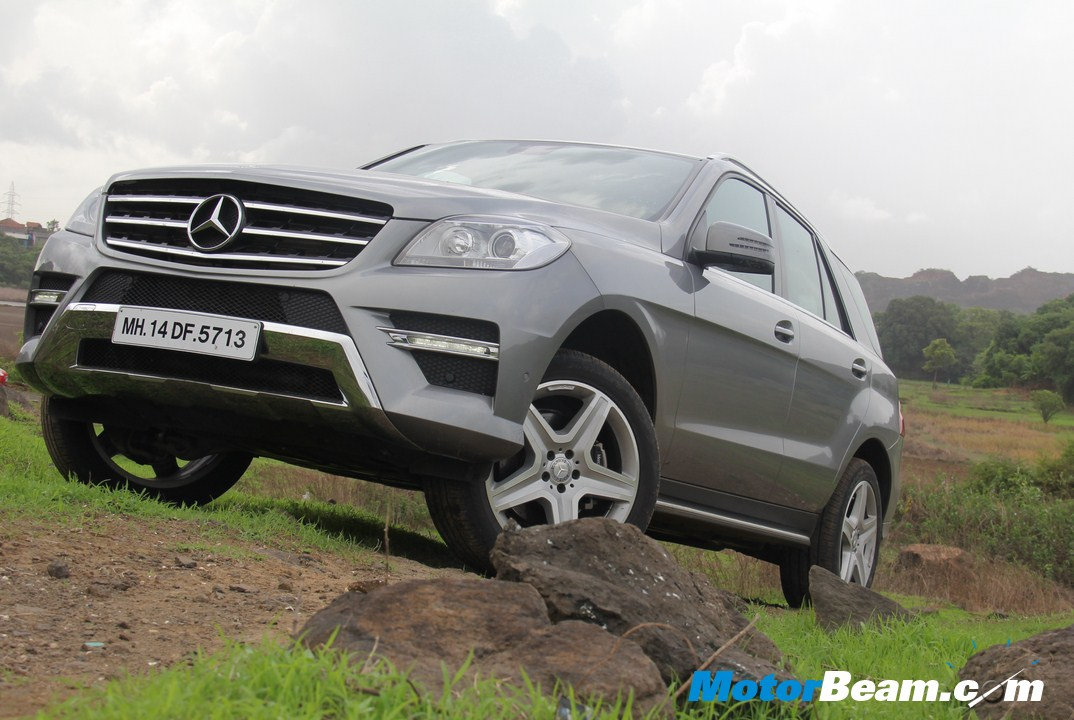 Mercedes M-Class Review Off-Roading