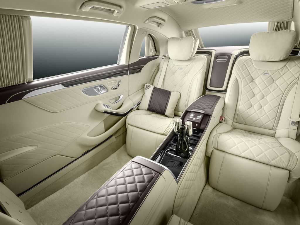 Mercedes Maybach Pullman Recliners