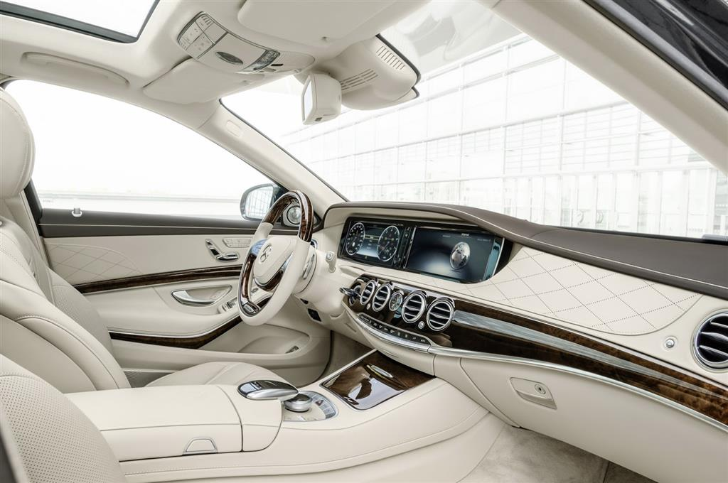 Mercedes-Maybach S-Class Interiors