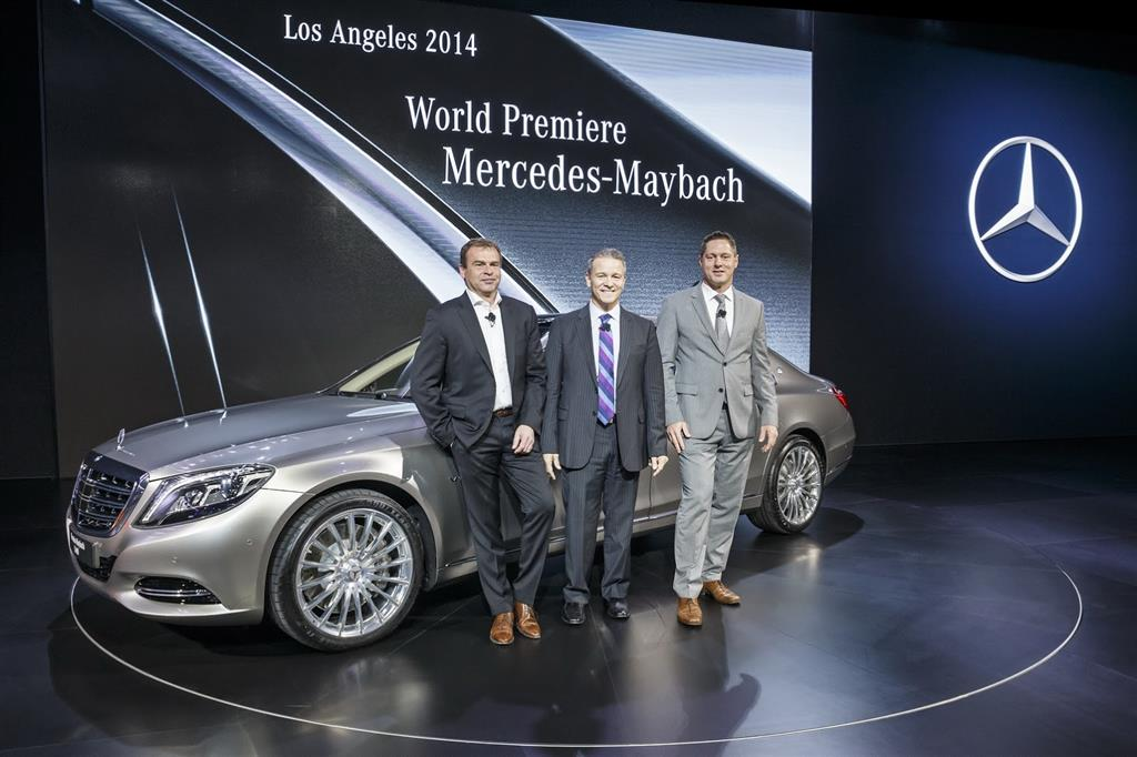 Mercedes-Maybach S-Class Unveil