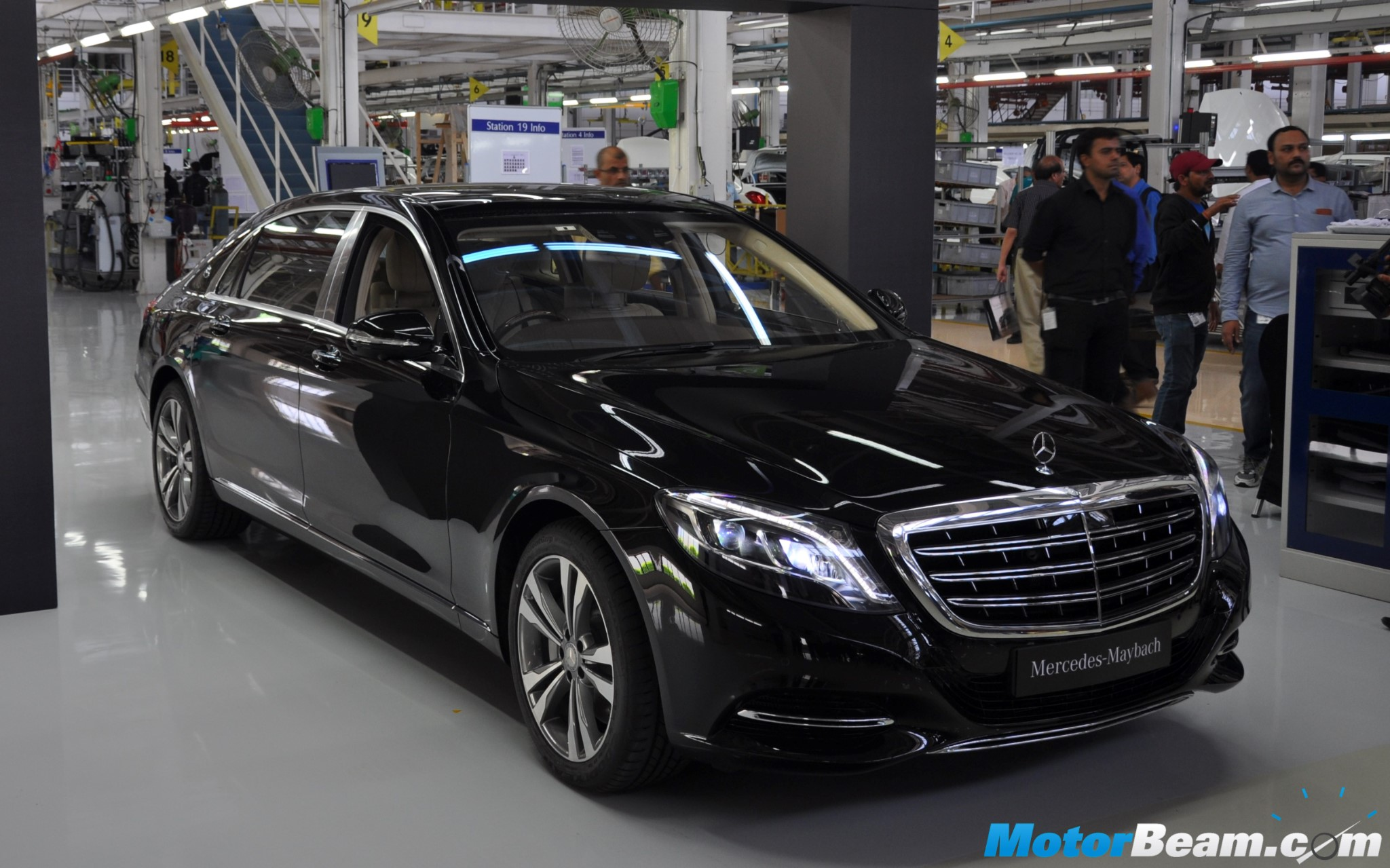 Mercedes-Maybach S500 India Launch