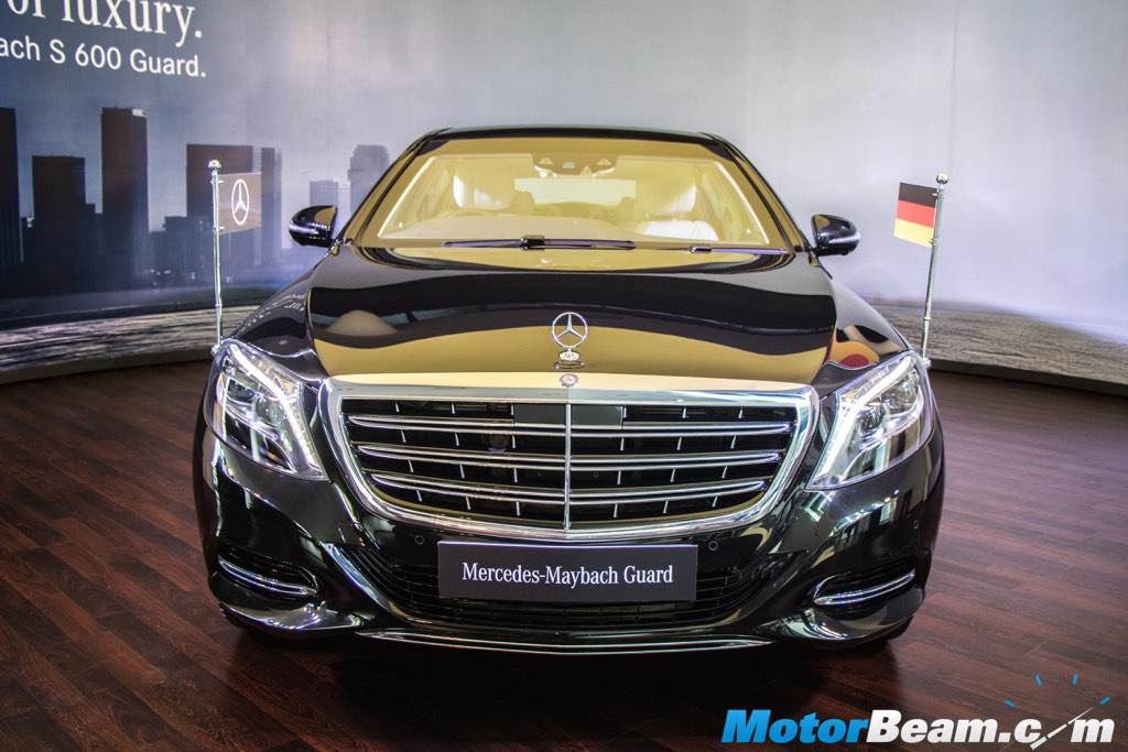 Mercedes-Maybach S600 Guard Front