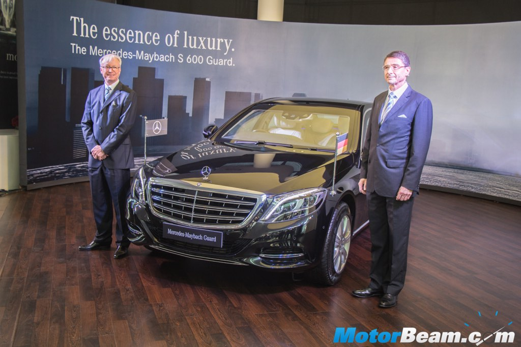 Mercedes-Maybach S600 Guard Launch
