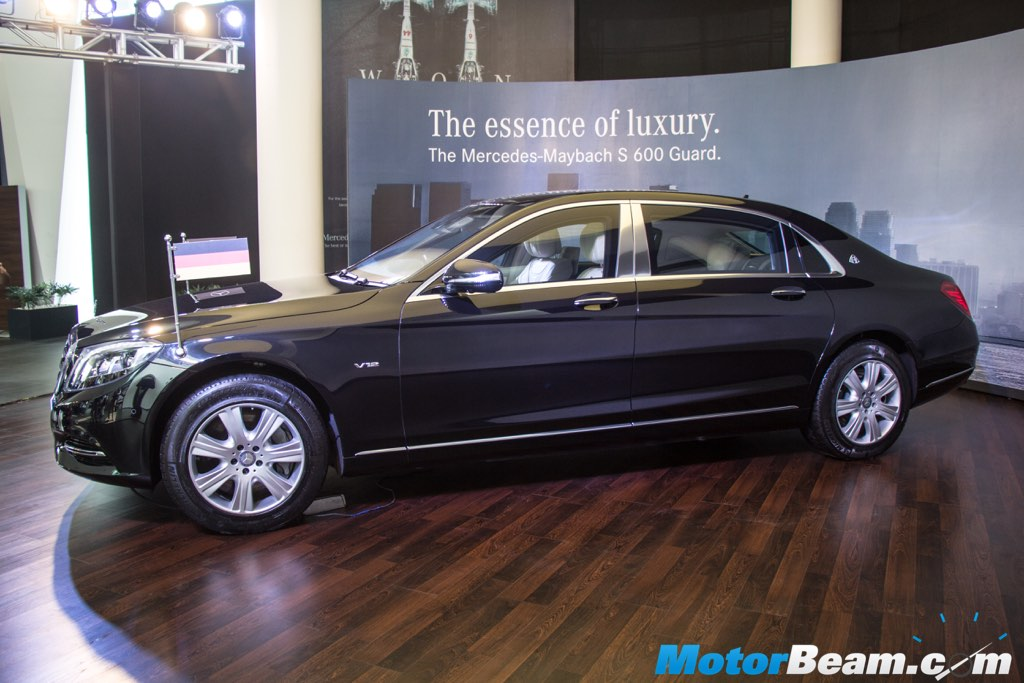 Mercedes-Maybach S600 Guard Side