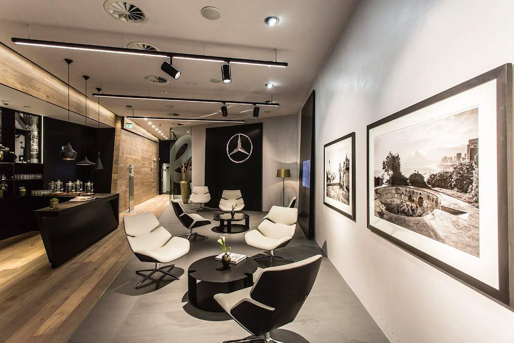 Mercedes Me Store Lounge