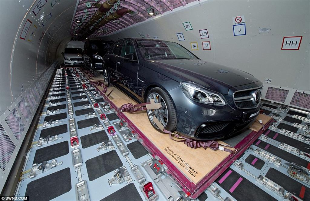 Mercedes Middle East To London