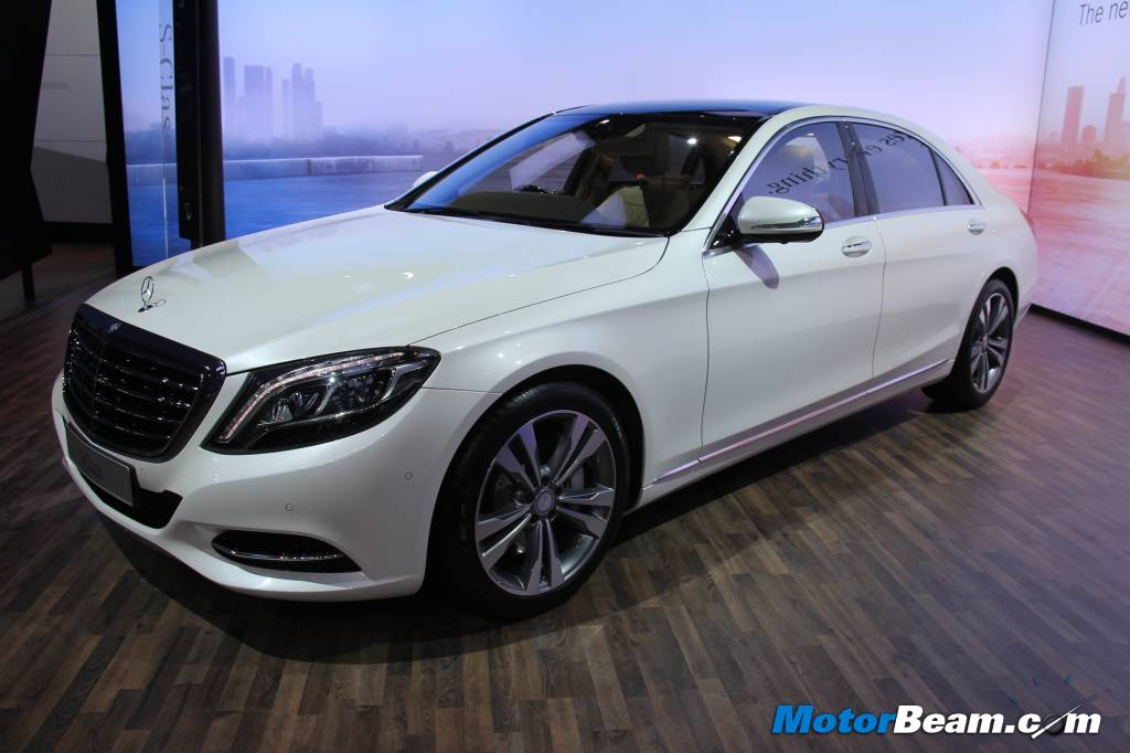 Mercedes S-Class Auto Expo India