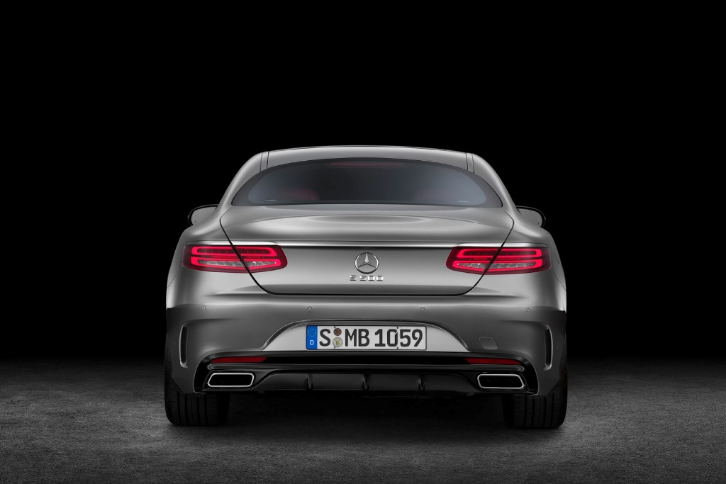 Mercedes S-Class Coupe Rear