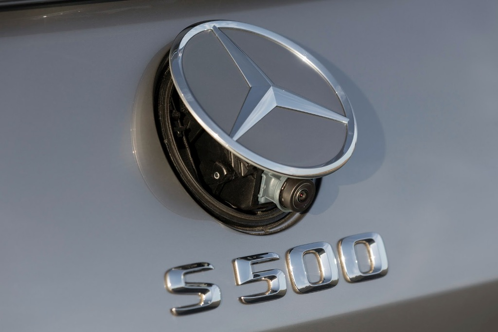 Mercedes S-Class Coupe Reverse Camera