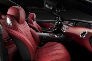 Mercedes S-Class Coupe Seats
