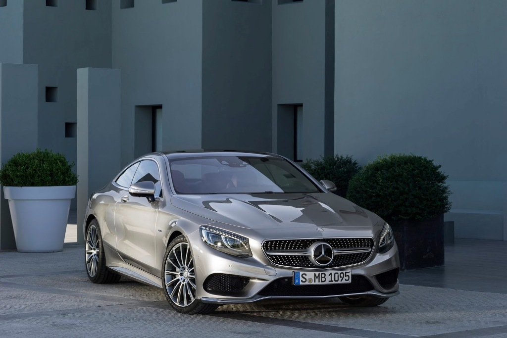 Mercedes S-Class Coupe Wallpaper