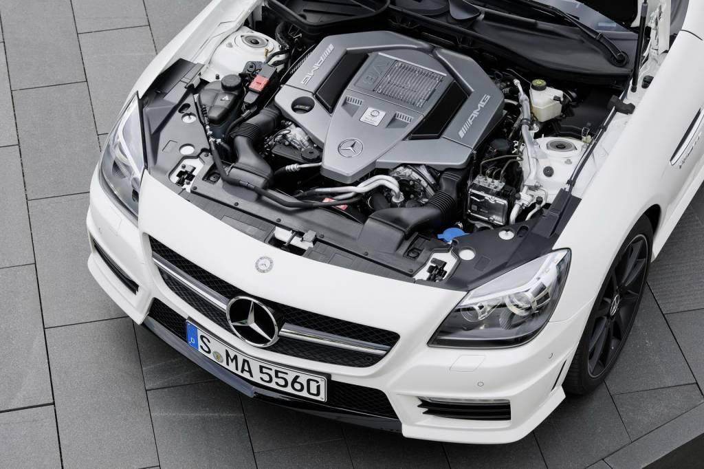Mercedes SLK 55 AMG Engine