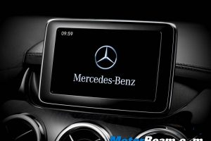 Mercedes B-Class Display