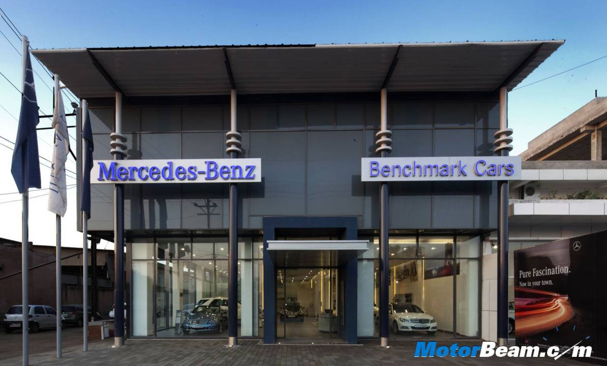 Mercedes Benchmark Cars Indore