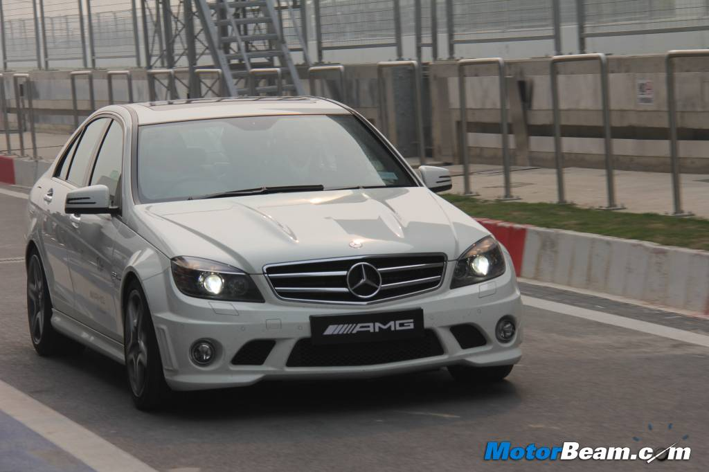 Mercedes C63 AMG Driving Academy