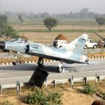 Mirage-2000 Landing Trial Indian Air Force