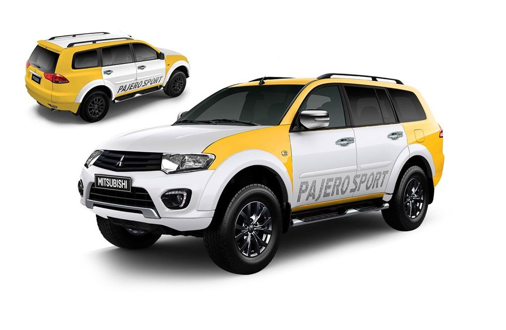 Mitsubishi Pajero Sport Splash Customisation