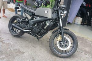 Modified Bajaj Pulsar 200 NS Scrambler