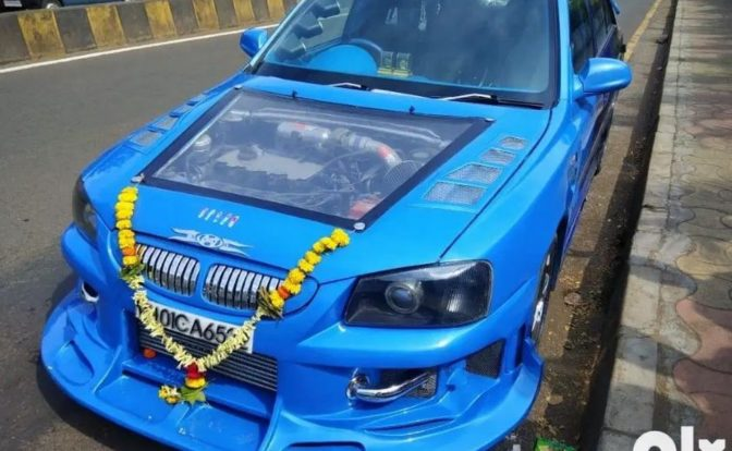 Modified Hyundai Accent Front