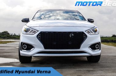 Modified Hyundai Verna