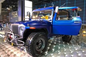 Modified Mahindra Thar 6