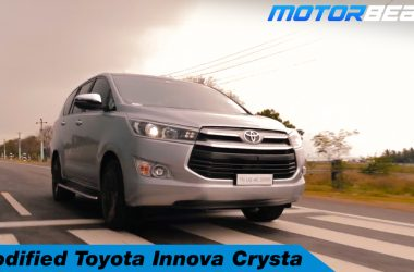 Modified Toyota Innova Crysta