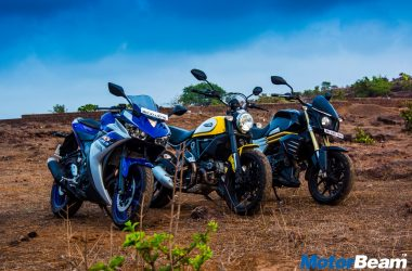 Konkan Memoirs – An Escape With Mahindra Mojo, Yamaha R3, Ducati Scrambler [Video]