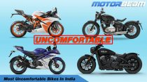 Most Uncomfortable Bikes In India