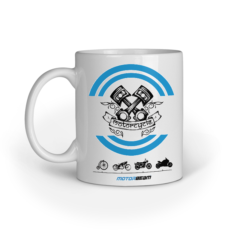 MotorBeam Bike Evolution Mug