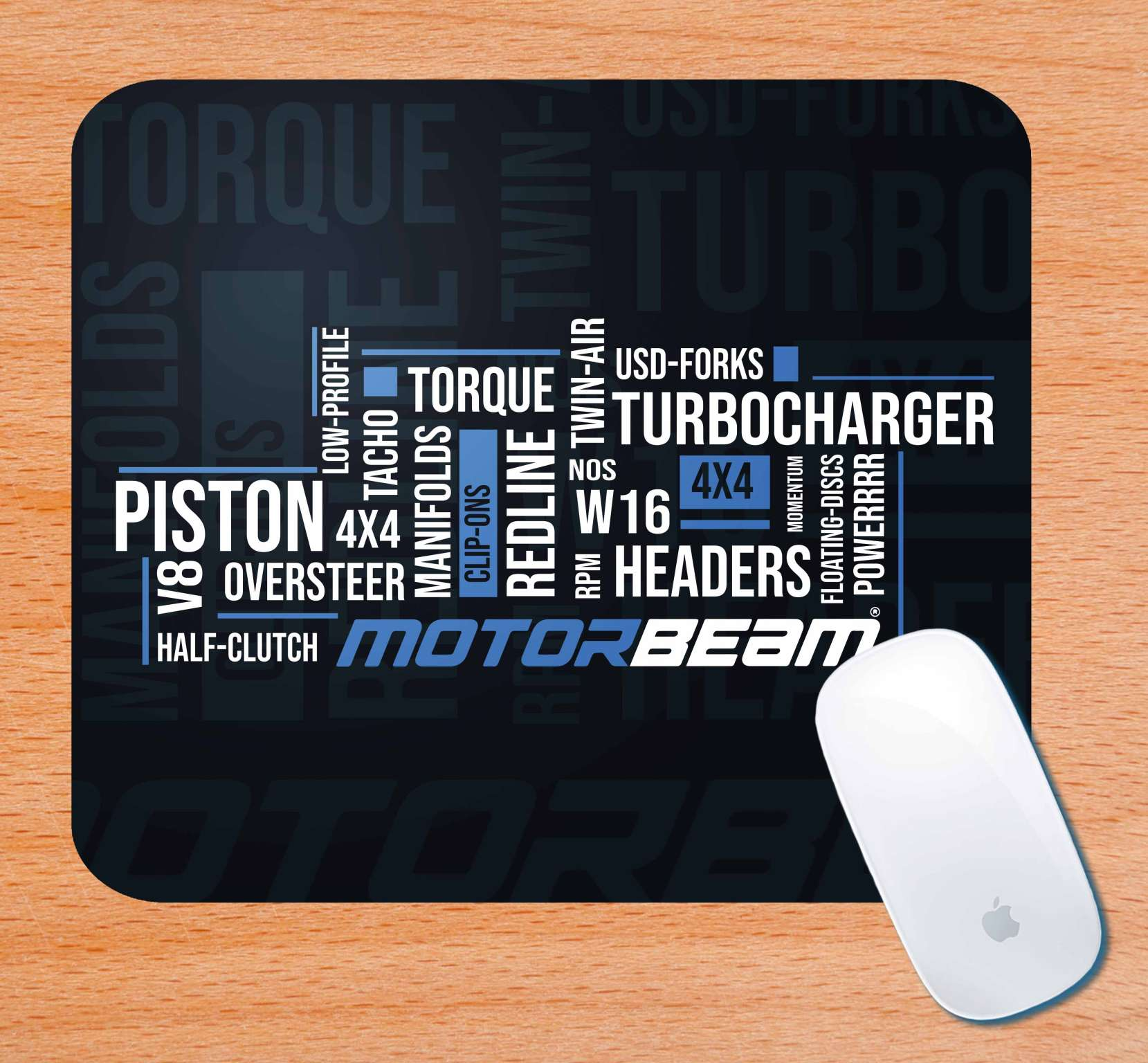 MotorBeam Classic Mouse Pad