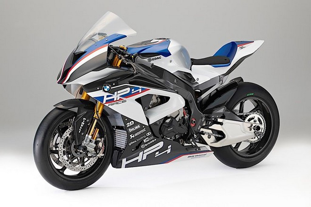 New BMW HP4 Front
