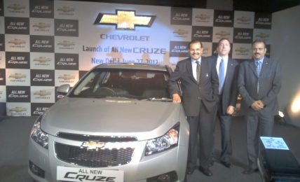 New Engine Chevrolet Cruze Launch