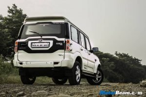 New Gen Mahindra Scorpio Rear