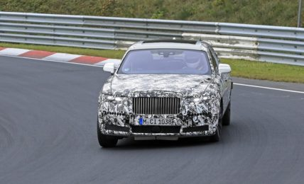 New Gen Rolls Royce Ghost Front