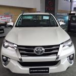 New Generation Toyota Fortuner Front