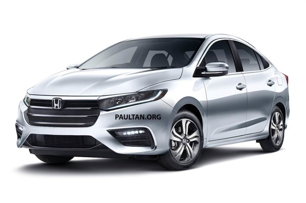 New Honda City Front