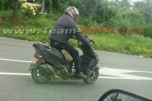 New Honda Scooter Spied