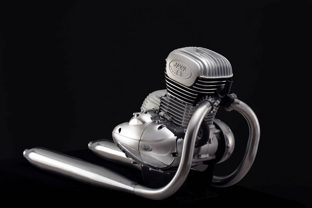 New Jawa Engine Exhaust