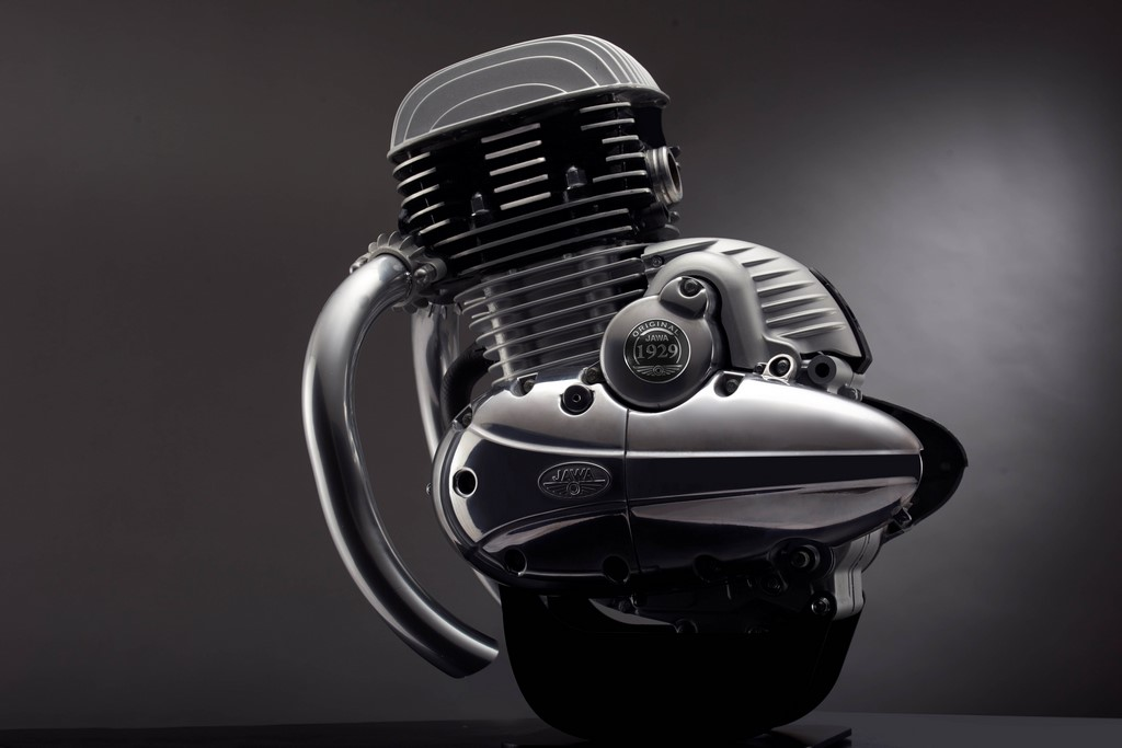 New Jawa Engine Side