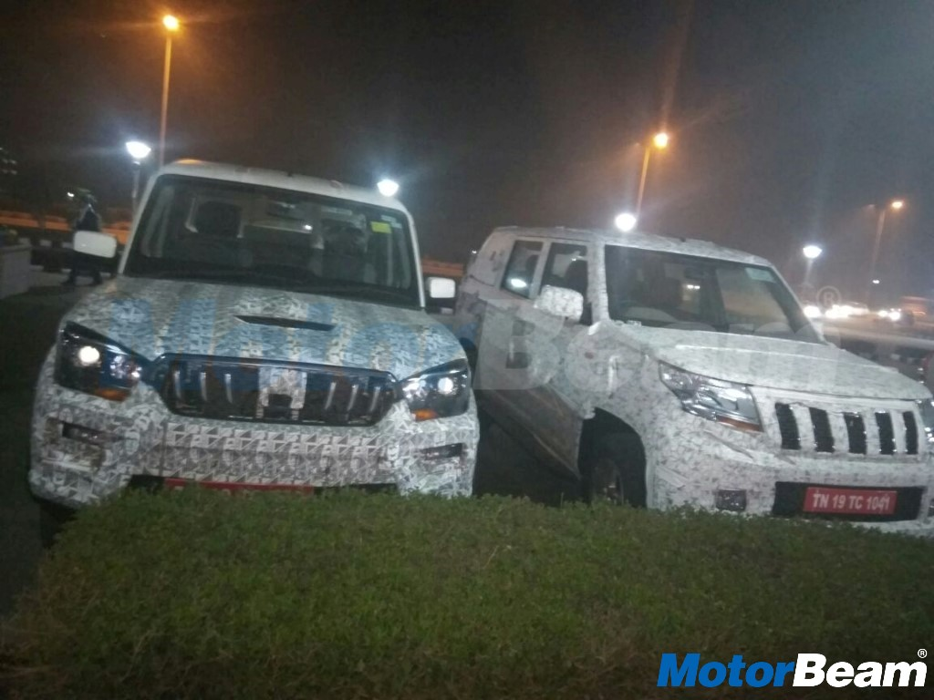New Mahindra Cars On Test