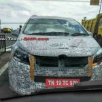 New Mahindra MUV Spotted Front
