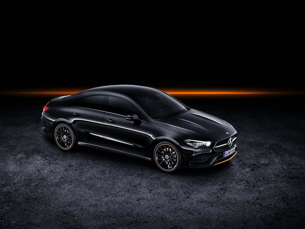 New Mercedes-Benz CLA Aerodynamic