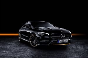 New Mercedes-Benz CLA Front