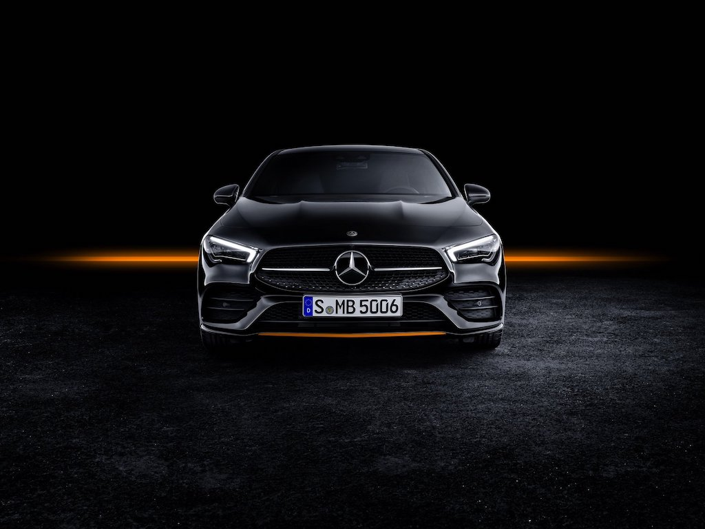New Mercedes-Benz CLA Front Fascia